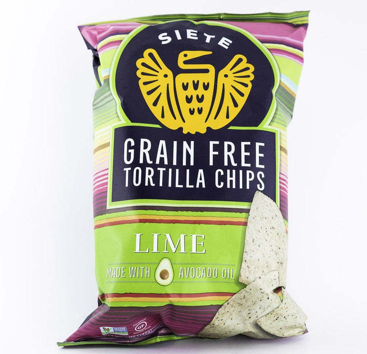 Siete - Lime Grain Free Tortilla Chips - 5 oz Bag - Chips - Hardin's Natural Foods