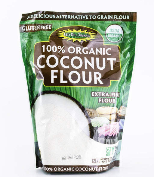 Edward & Sons - Let's Do... Organic Coconut Flour - 1 lb Bag - Flour - Hardin's Natural Foods