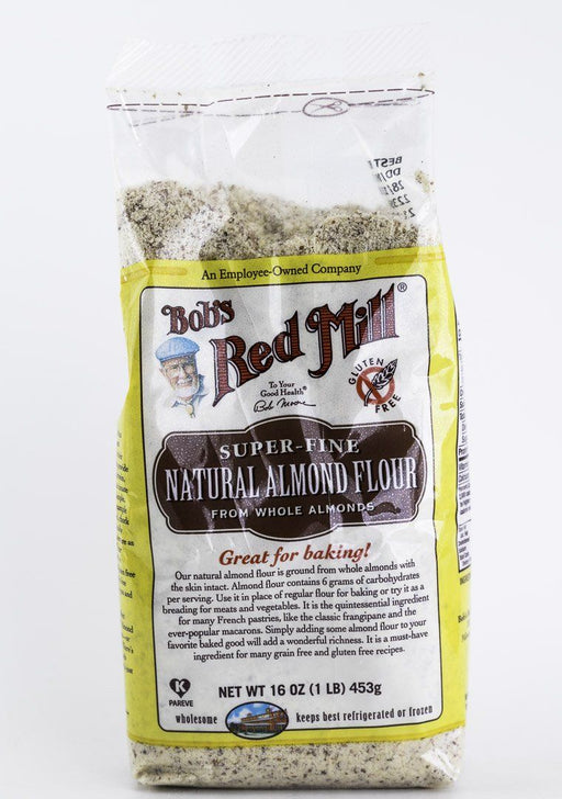Bob's Red Mill - Super Fine Natural Almond Flour - 1 lb Bag - Baking Supplies - Hardin's Natural Foods