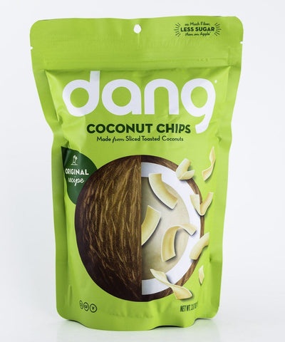 Dang Foods - Original Paleo Coconut Chips - 3 oz Bag - Grain Free