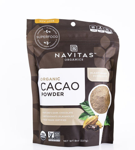Navitas Organics - Organic Cacao Powder - 8 oz Bag