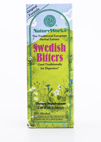 Nature's Way NatureWorks - Swedish Bitters - 3.38 fl oz (100 ml) Bottle
