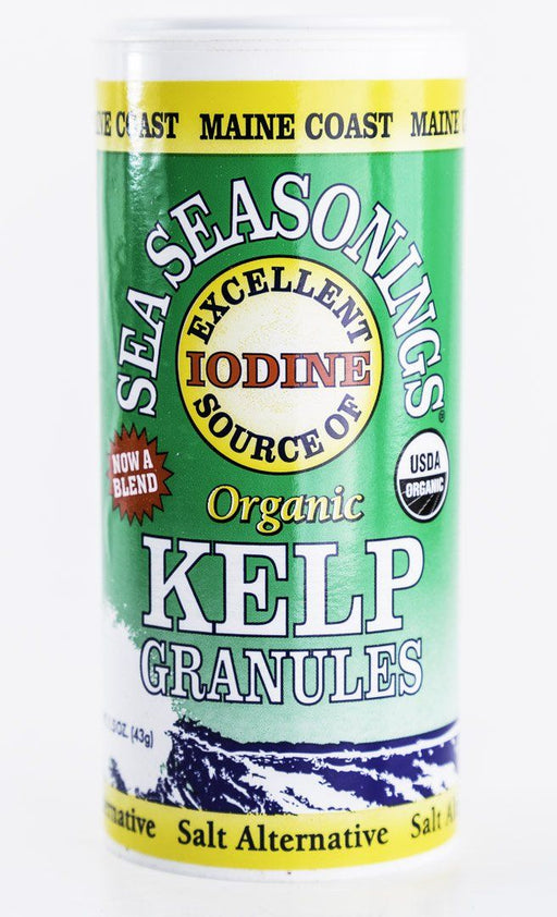 Maine Coast Sea Vegetables - Kelp Granules Sea Seasonings - 1.5 oz Shaker - Condiments - Hardin's Natural Foods