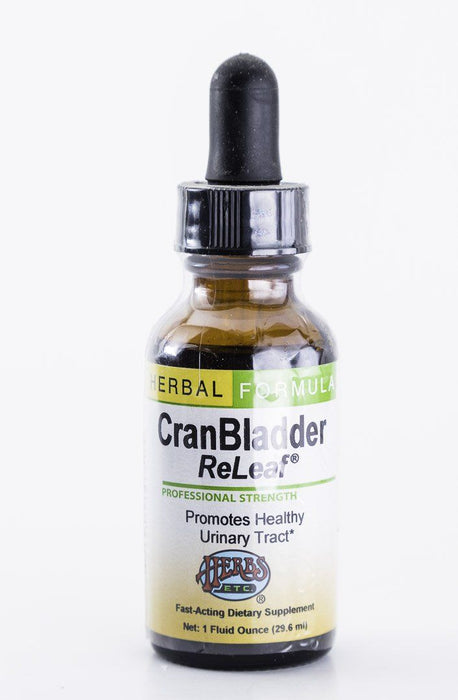Herbs, Etc. - CranBladder Releaf (Cranberry) 1 oz Herbal Tincture - Supplement - Hardin's Natural Foods