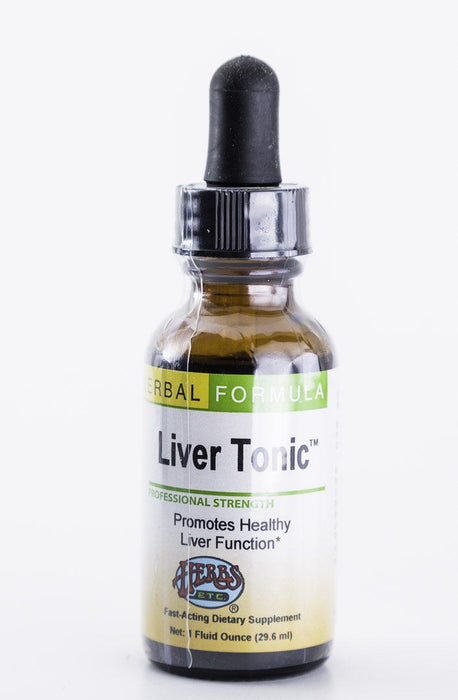 Herbs, Etc. - Liver Tonic 1 oz Herbal Tincture - Supplement - Hardin's Natural Foods