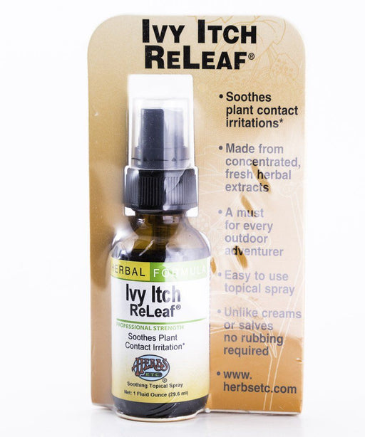 Herbs, Etc. - Ivy Itch ReLeaf (Relief) - 1 oz Herbal Tincture - Supplement - Hardin's Natural Foods
