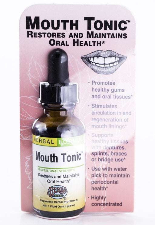 Herbs, Etc. - Mouth Tonic 1 oz Herbal Tincture - Supplement - Hardin's Natural Foods