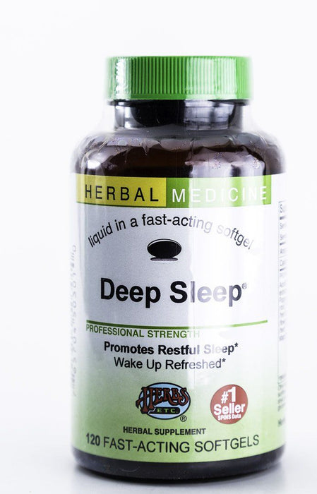 Herbs, Etc. - Deep Sleep 120 Capsules - Supplement - Hardin's Natural Foods