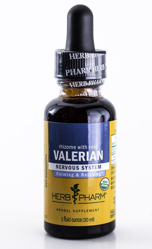 Herb Pharm -  Valerian Herbal Extract - 1 oz Tincture - Supplement - Hardin's Natural Foods