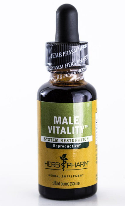 Herb Pharm - Male Vitality Herbal Extract Formula - 1 oz Tincture - Supplement - Hardin's Natural Foods