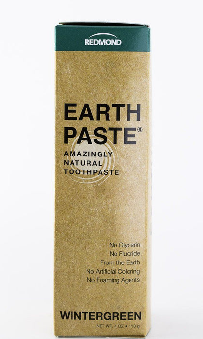 Redmond Trading Company Earthpaste Toothpaste - Wintergreen - 4 oz Tube - Body Care - Hardin's Natural Foods