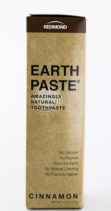Redmond Trading Company Earthpaste Toothpaste - Cinnamon - 4 oz Tube - Body Care - Hardin's Natural Foods