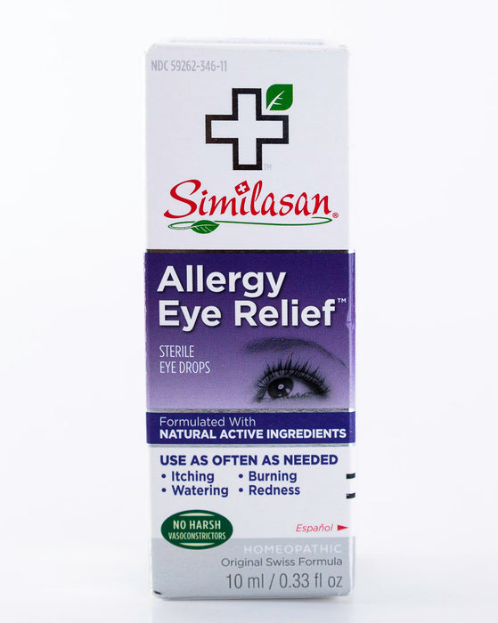 Similason - Allergy Eye Relief - 10ml/.33oz Dropper - Homeopathic & Natural - Supplement - Hardin's Natural Foods