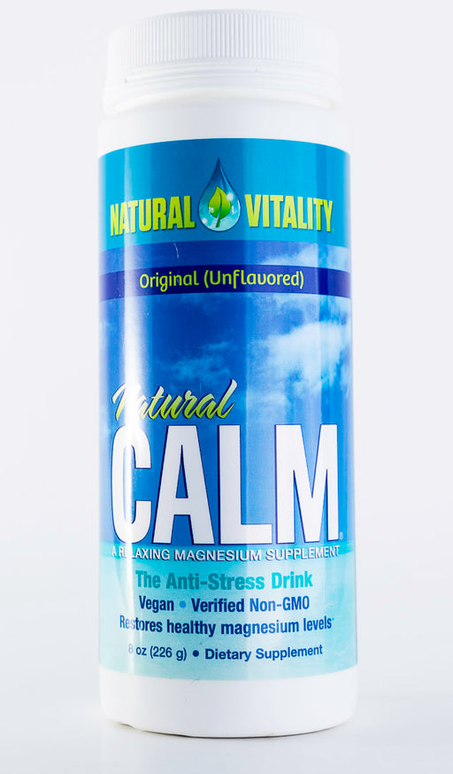 Natural Vitality - Natural Calm Original (Unflavored) - 8 oz Powder - Magnesium - Supplement - Hardin's Natural Foods