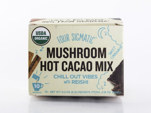 Four Sigmatic - Mushroom Hot Cacao (Chocolate) Mix - Reishi - 10 Packets - Tea - Hardin's Natural Foods