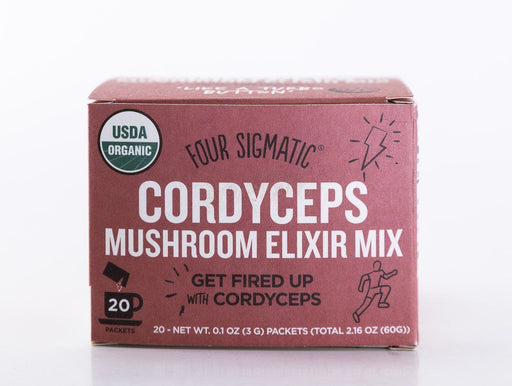 Four Sigmatic - Cordyceps Mushroom Elixir Drink Mix - 20 Packets