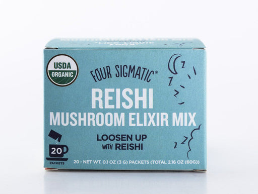 Four Sigmatic - Reishi Mushroom Elixir Drink Mix - 20 Packets - Tea - Hardin's Natural Foods
