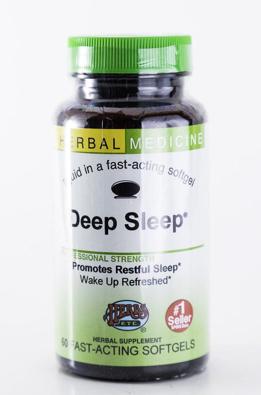 Herbs, Etc. - Deep Sleep 60 Capsules - Natural Sleep Aid - Supplement - Hardin's Natural Foods