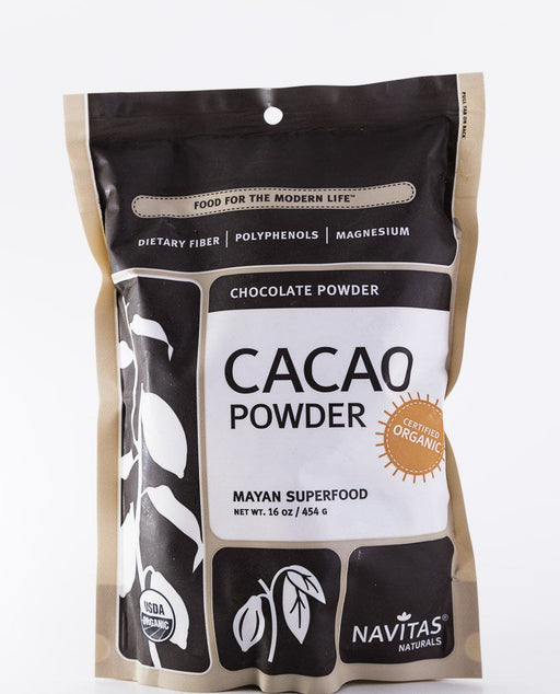 Navitas Organics - Organic Cacao Powder - 16 oz Bag