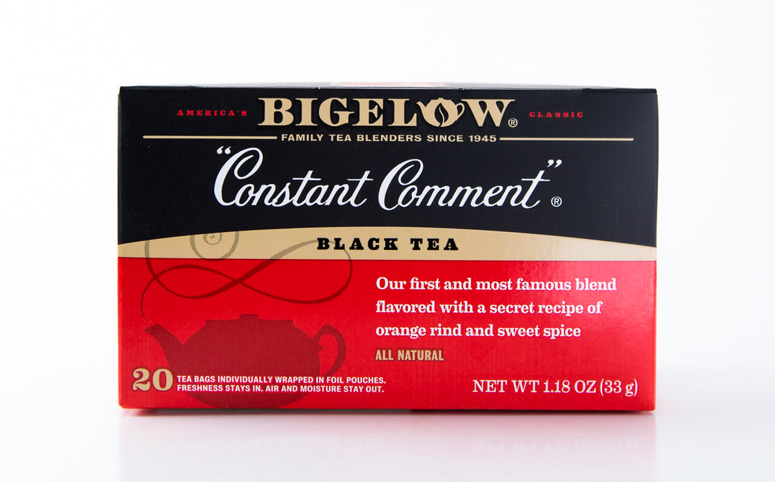 Bigelow - Constant Comment - Black Tea - 20 Tea Bags - Tea - Hardin's Natural Foods