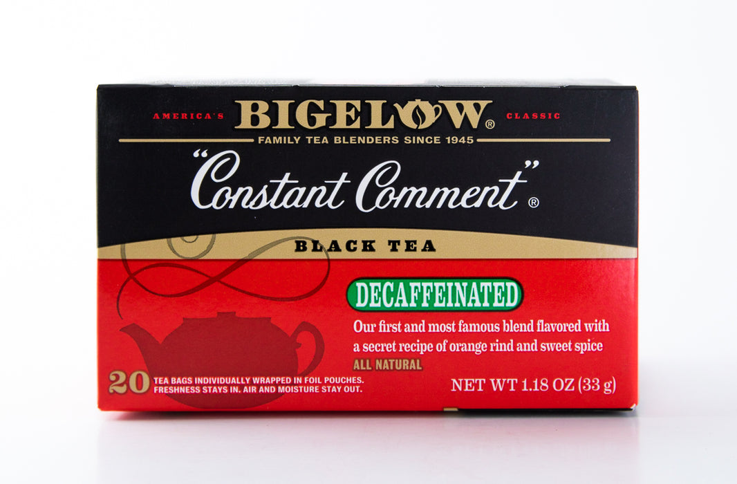 Bigelow - Decaffeinated Constant Comment - Black Tea - 20 Tea Bags - Tea - Hardin's Natural Foods