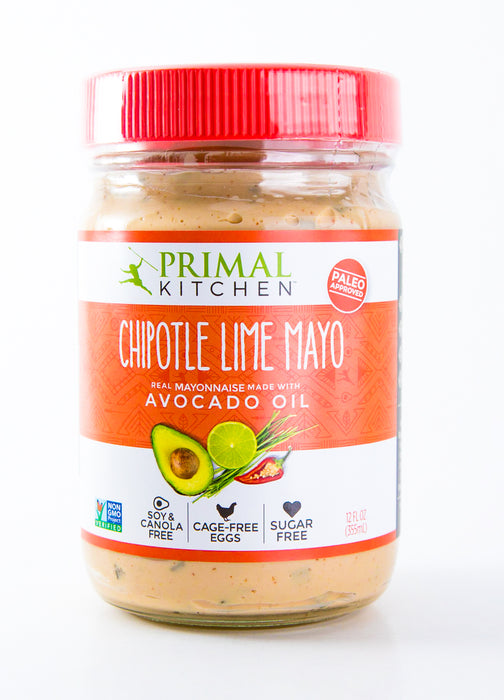 Primal Kitchen Chipotle Lime Avocado Mayo, Gluten Free, Whole30 and Paleo (12 oz) -  - Hardin's Natural Foods