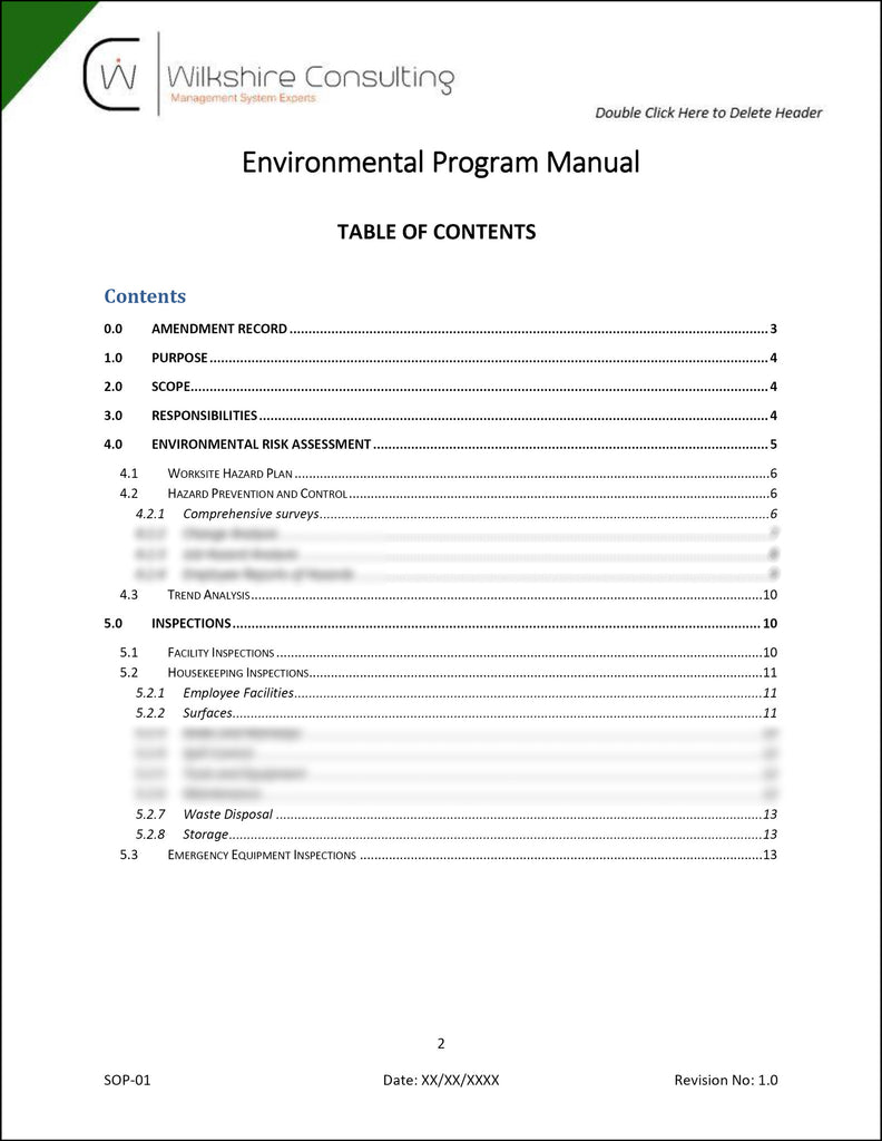 Iso 140012015 environmental management system documentation iso 140012015 environmental management system documentation template package maxwellsz