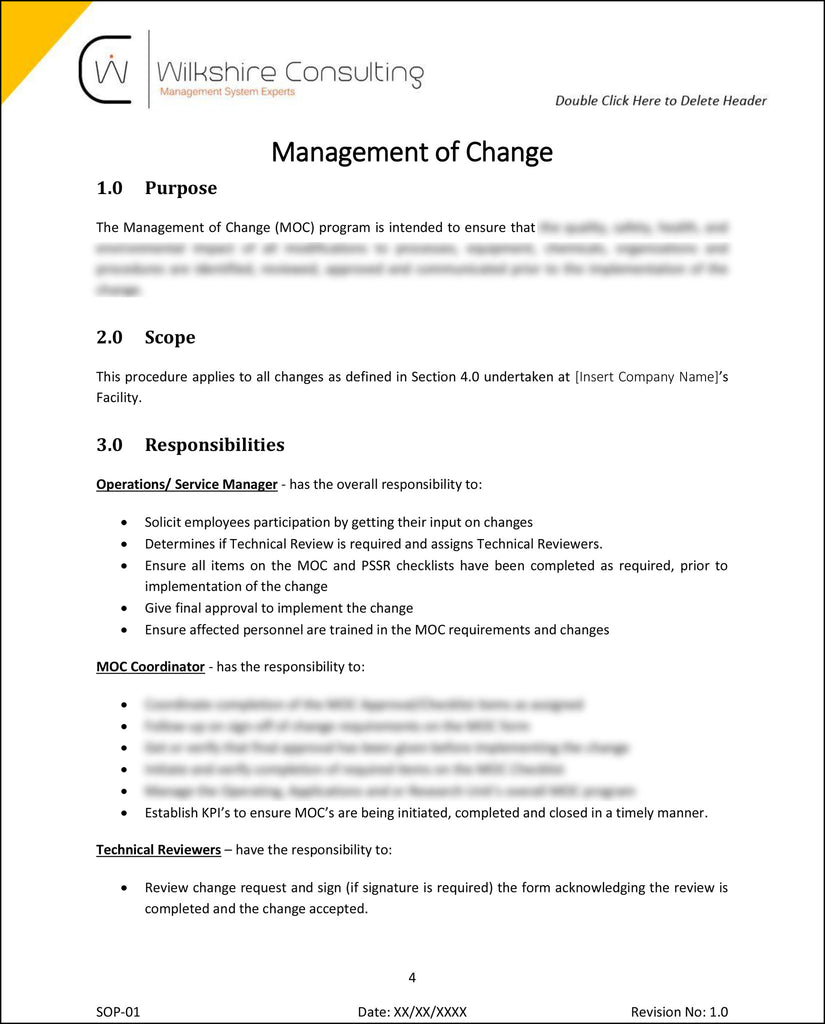 ISO 90012015 Quality Management System Documentation Template Package