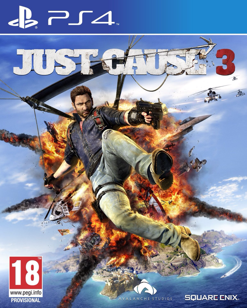 [PS4] Just Cause 3 R2
