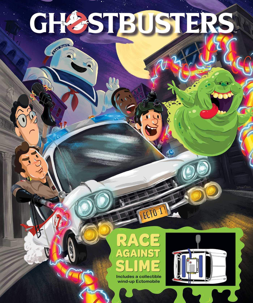 Ghostbusters Ectomobile: Race Against Slime Board book