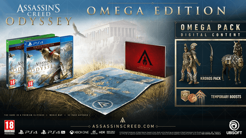 [PS4] Assassins Creed Odyssey Omega Edition R2 Arabic