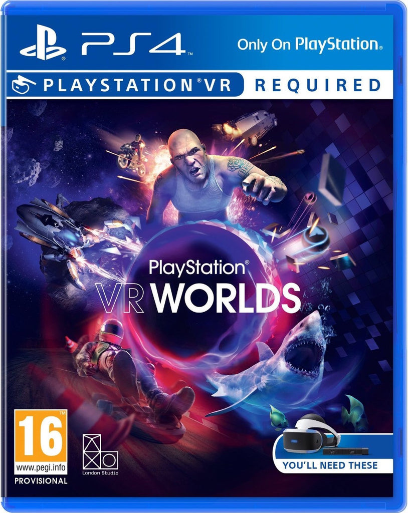[PS4 VR] Playstation VR Worlds R2