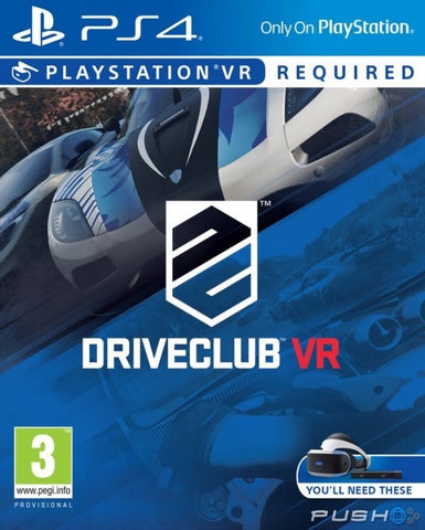 [PS4 VR] DriveClub VR