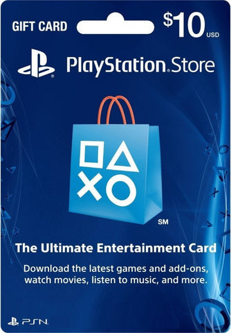 PSN Card $10 (US Account)