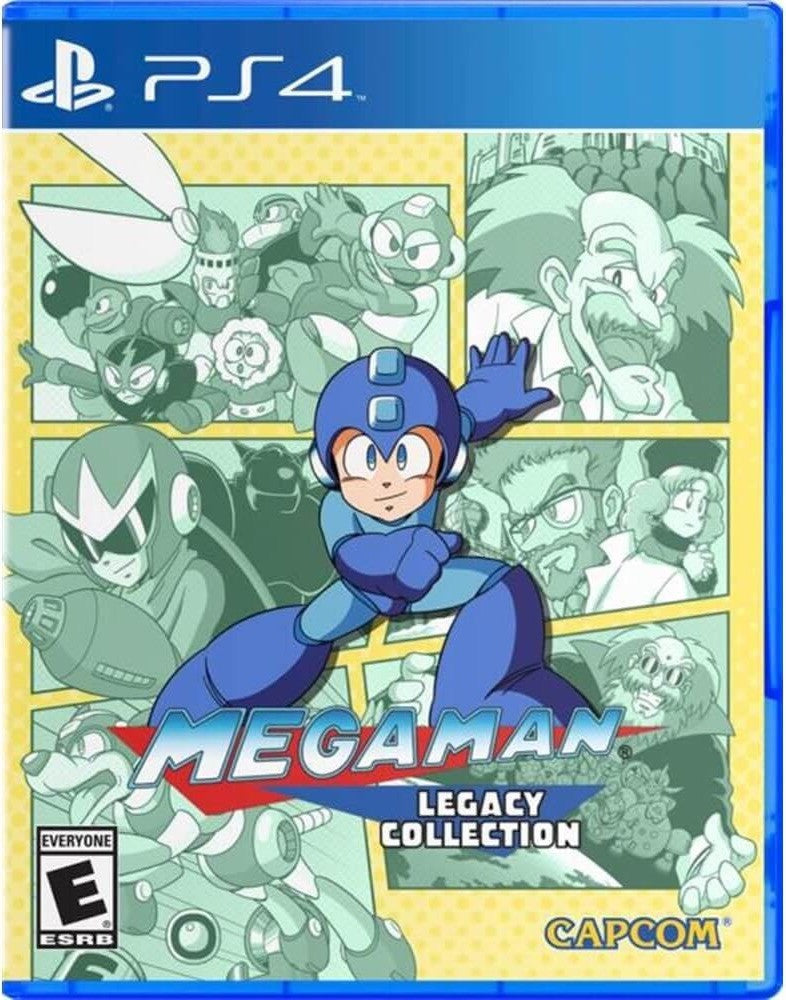 [PS4] Megaman Legacy Collection R1