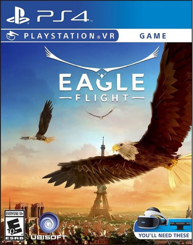 [PS4 VR] Eagle Flight R1