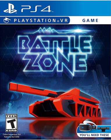 [PS4 VR] Battlezone R1