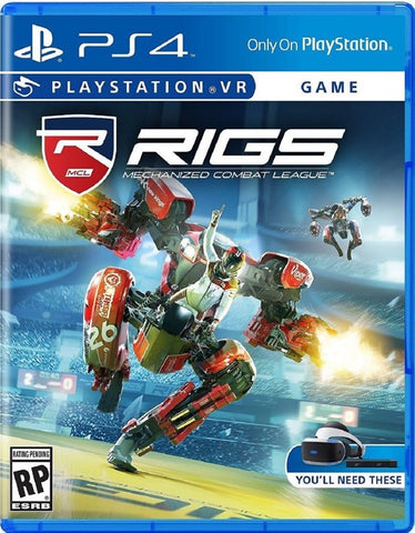 [PS4 VR] RIGS Mechanized Combat League R1