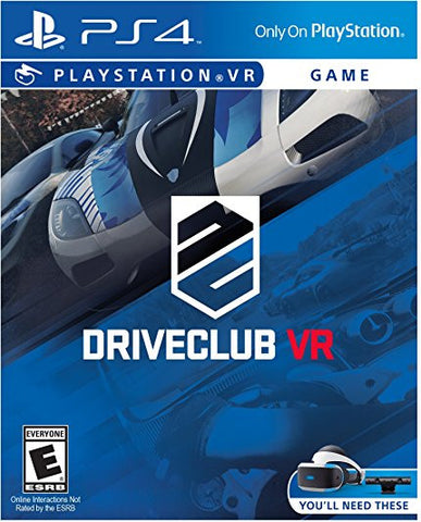 [PS4 VR] Driveclub VR R1