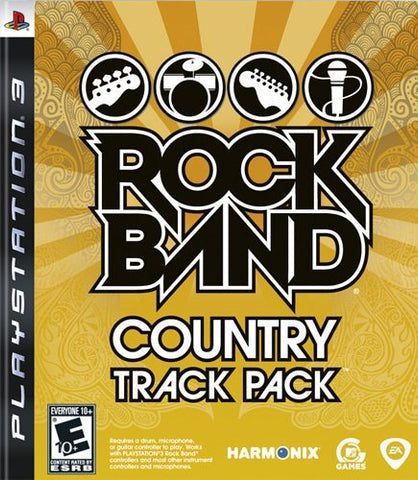[PS3] Rock Band Country Track Pack R1