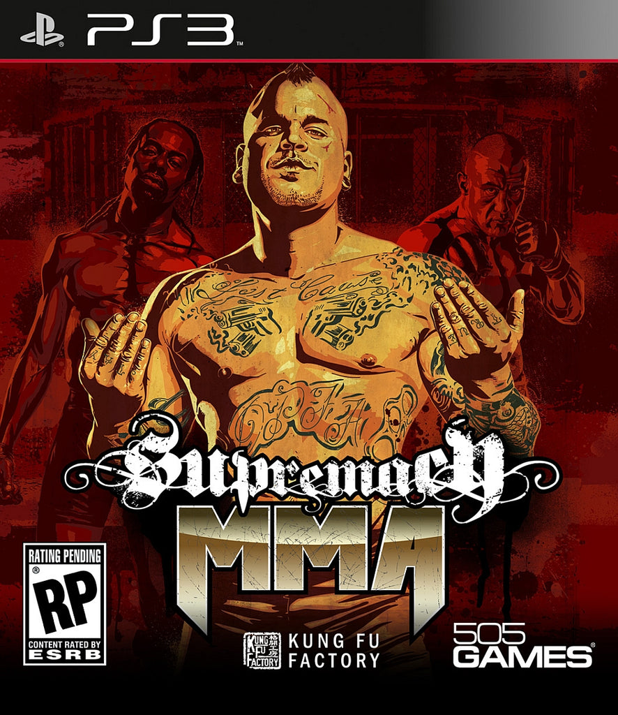 [PS3] Supremacy MMA PS3 R1