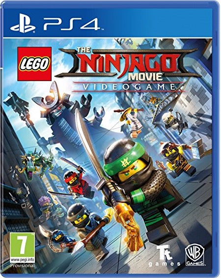 [PS4] LEGO Ninja go Movie Game: Videogame R2