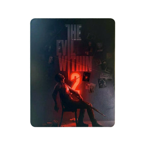 [PS4] The Evil Within 2 Steelbook Custom (No Game)
