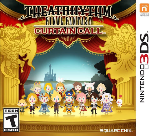 [3DS] Final Fantasy: Curtain Call R1
