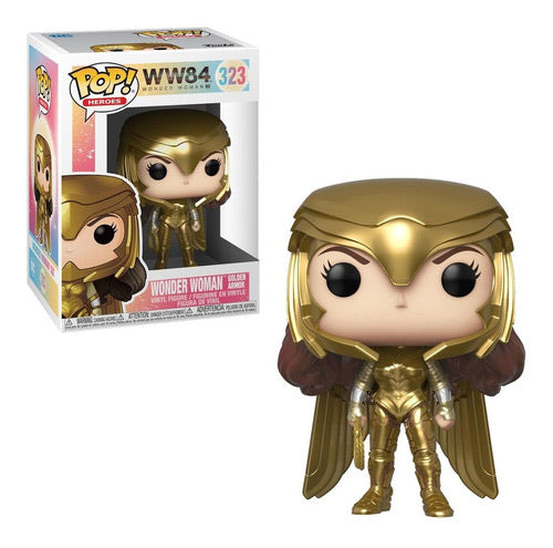 Funko Pop WW84 Wonder Woman (Golden Armor)