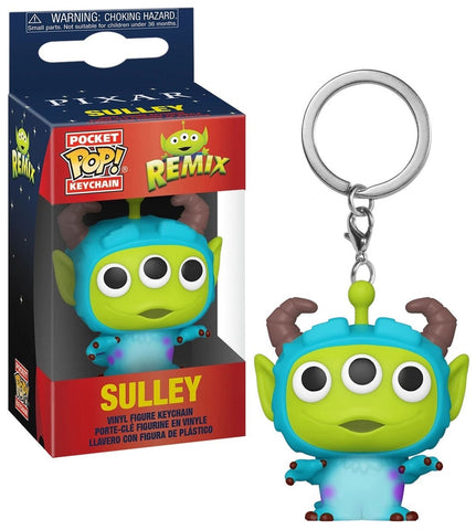 Pop Keychain Disney Alien Remix Sulley