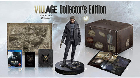 [PS4] Resident Evil Village Japan Collector's Edition R3