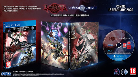 [PS4] Bayonetta & Vanquish 10th Anniversary Edition (SteelBook) R2