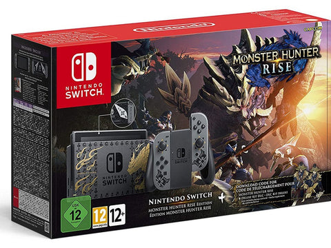 Nintendo Switch Monster Hunter Rise Limited Edition Console R2