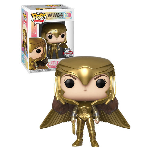Funko Pop DC Wonder Woman Golden Armor (Special Edition)
